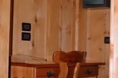 scrivania della camera doppia